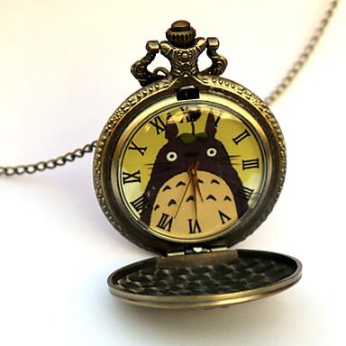 Klokker Inspirert av Min nabo Totoro Eren Jager Anime Cosplay-tilbehør Klokker Legering Herre