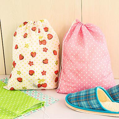 kengät varastokassiin tulostus ei-kudotut kangasvarastointi ja -organisaatio (satunnainen väri)