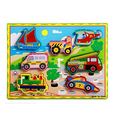 voordelige 3D-puzzels-Legpuzzel / Educatief speelgoed Trein / Automatisch / Koets Noviteit Hout Jongens / Meisjes Geschenk