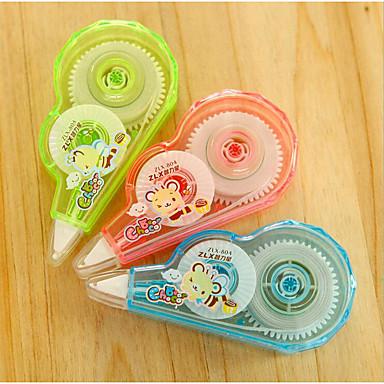 ペン 修正テープ ペン,プラスチック バレル インク色 For 学用品 事務用品 のパック