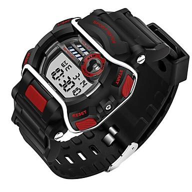 SANDA Lasten Muotikello Rannekello Urheilukello Armeijakello Smart Watch Digitaalinen Japanilainen kvartsi Ajanotto Vedenkestävä LED