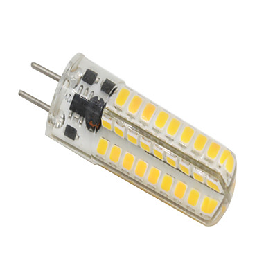 5W 320-350lm GY6.35 Luces LED de Doble Pin T 72 Cuentas LED SMD 2835 Regulable Blanco Cálido 12V