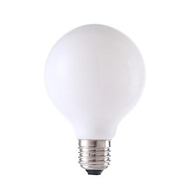 GMY® 1個 4W 450 lm E26/E27 フィラメントタイプLED電球 G80 4 LEDの COB 温白色 AC 220-240V