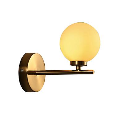 Moderno / Contemporáneo Lámparas de pared Metal Luz de pared 110-120V / 220-240V max10w