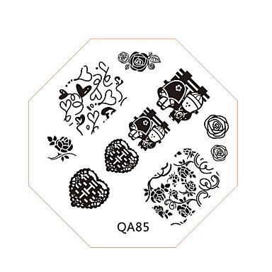 Neglekunst stempling Plate Mote Høy kvalitet Daglig