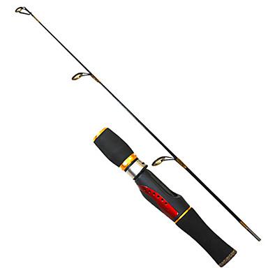 スピニングロッド 釣り竿 穴釣りロッド PE FRP 0.66 M 穴釣り ロッド-