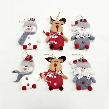 6pcs High Quality Christmas Ornaments Tree Decoration 5435510 2018 12 11