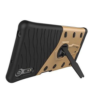 Etui Til Sony med stativ / Ultratynn Bakdeksel Rustning Hard PC til Sony Xperia E5 / Sony