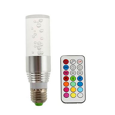 3W 200lm E14 GU10 E26 / E27 B22 Smart LED-lampe R39 3 LED perler Høyeffekts-LED RGB 85-265V
