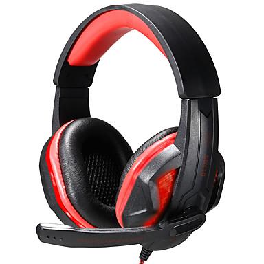 SOYTO SY711MV ヘッドホン(ヘッドバンド型)Forメディアプレーヤー/タブレット / 携帯電話 / コンピュータWithマイク付き / ボリュームコントロール / ゲーム / スポーツ / ノイズキャンセ