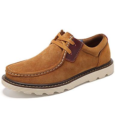 Oxford-kengätMiehet-Mokkanahka-Keltainen Kahvi Sininen-Rento-Comfort