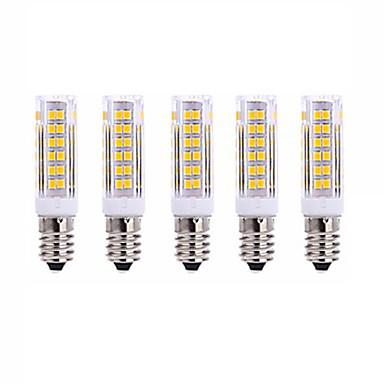 E14 أضواء LED ذرة T 75 الأضواء SMD 2835 أبيض دافئ أبيض كول 1000lm 2700-3000  6000-6500K AC220V