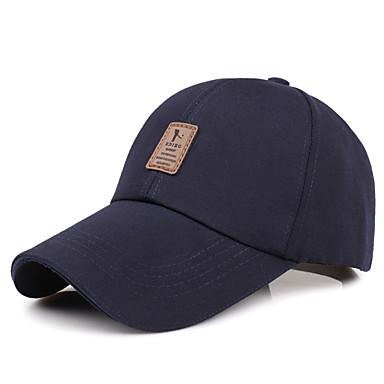 Hatt / Cap Pustende / Bekvem til Baseball Klassisk Bomull
