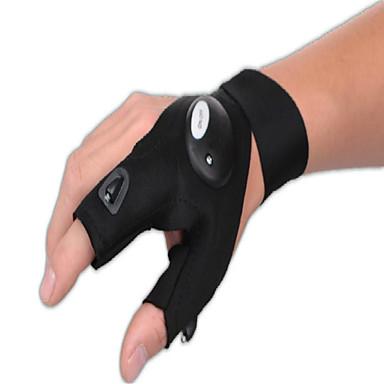 su geçirmez tamir hizmetleri eldiven, balıkçılık eldiven, açık karanlık durum için parmak ışıkları ile kurtarma eldiven