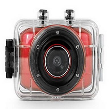 Action Camera / Sports Camera 12MP 8MP 5MP 640 x 480 1024x768 多機能 WiFi ワイヤレス 1.5 2 英語 ドイツ語 スペイン語 簡体字中国語 繁体字中国語 シングルショット バーストモード タイムラプス 30