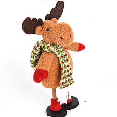 クリスマスデコレーション Christmas Figurines おもちゃ サンタスーツ Elk 雪だるま しか 調度品 男の子 女の子 小品