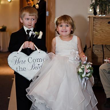 ديكور زفاف جميل خشب / مادة مختلطة زينة الزفاف حفلة الزفاف كلاسيكيClassic Theme الربيع / الصيف / الخريف