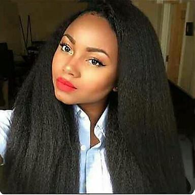 レミーヘア フルレース かつら ストレート 130% 150% 180% 密度 100%手作業縫い付け ブラックアメリカン風ウィッグ ナチュラルヘアライン ショート ミディアム ロング 女性用 人毛レースウィッグ