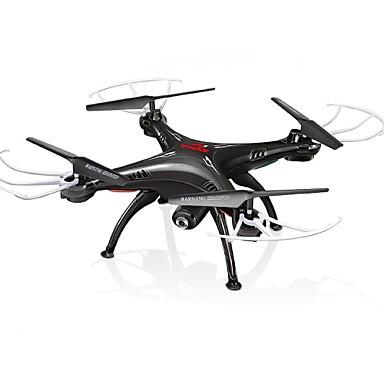 Ρομποτάκι SYMA x5sw 4 Kανάλια 6 άξονα Με κάμερα Λειτουργία άμεσου ελέγχου Περιστροφική πτήση 360 μοιρών Με κάμεραΕλικόπτερο RC με