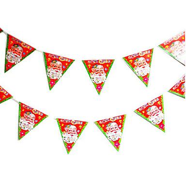 6kpl suunnittelu on satunnainen väri koriste lahjoja rengas sokeriruo'on kellot roikkua toimimaan roolin ofing joulukuusi koriste