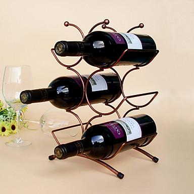 Estantes de Vino Hierro Fundido, Vino Accesorios Alta calidad CreativoforBarware cm 0.15 kg 1pc
