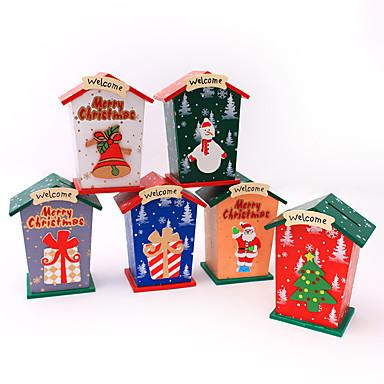 飾り Santa スノーフレーク柄 レジデンシャル 屋内Forホリデーデコレーション