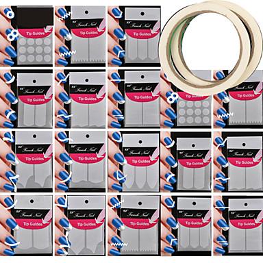 Nagel-Kunst-Werkzeug Nagel-Kunst-Kit Nail Schmuck Niedlich / Aufkleber / Easy Cut Nagel Kunst Maniküre Pediküre Klassisch / Schick & Modern / Romantisch Alltag / Nagelschmuck