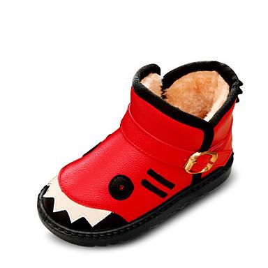 BootsitTyttöjen-Mokkanahka-Musta Keltainen Punainen-Rento-Comfort