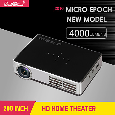 alle Gain® DH-A600 DLP Miniprojektor WXGA (1280x800) 500 Lumens LED
