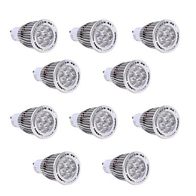 GU10 LEDスポットライト 7 LEDの SMD 3030 装飾用 温白色 クールホワイト 650-700lm 2800-3200/6000-6500