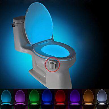 BRELONG® 1 stk Toilet Light Batteri Sensor <5V
