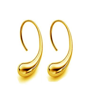 女性用 スタッドピアス  -  ゴールドメッキ ドロップ ゴールド / シルバー 用途 結婚式 / パーティー / 日常