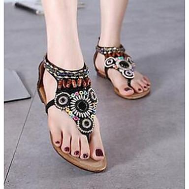 SandaalitNaisten-Muu eläimennahka-Musta / Beesi-Rento-Comfort