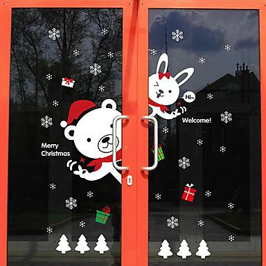 アールデコ調 コンテンポラリー ドアステッカー, PVC /ビニール 材料 窓の飾り ダイニングルーム ベッドルーム オフィス キッズルーム リビングルーム バスルーム ショップ/カフェ キッチン