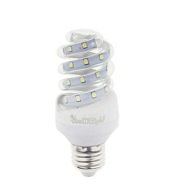 YouOKLight 800 lm E26/E27 LEDコーン型電球 T 23 LEDの SMD 2835 装飾用 温白色 クールホワイト AC 220-240V