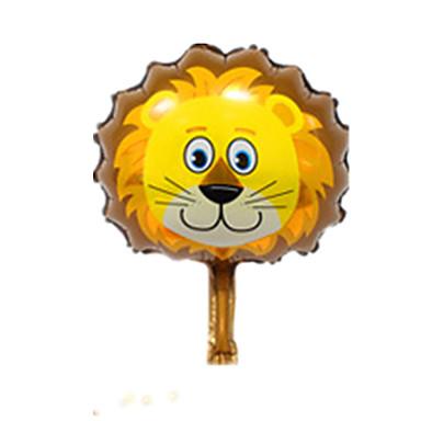 voordelige Ballonnen-Ballen Ballonnen Leeuw Dieren Feest Opblaasbaar Aluminium Kinderen Jongens Meisjes Speeltjes Geschenk 1 pcs