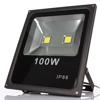 1pc 100W Luz de grama Focos LED Impermeable Decorativa Iluminación Exterior Blanco Cálido Blanco Fresco 85-265V