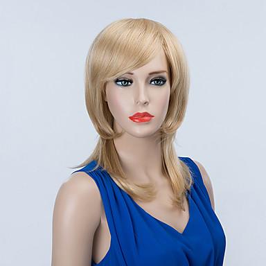 kaunis pitkä capless peruukit luonnon aaltoileva hiuksista