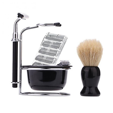 Afeitado Manual Rostro Bigotes y Barbas Manuel Accesorios de afeitar N/A Afeitado húmedo y seco Acero inoxidable