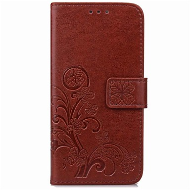 Capinha Para Wiko Porta-Cartão Carteira Com Suporte Hibernação / Ligar Automático Estampada Capa Proteção Completa Mandala Rígida PU
