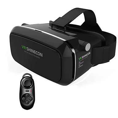 VR Virtual Reality 3D Glasses Headset Head Mount 3D For 3.5-6.0 inch Phone + Bluetooth Remote Control