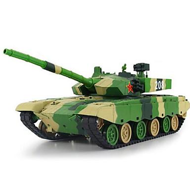 säiliö XQ 1:24 RC Car Vihreä Valmiina käyttöön säiliö Kaukosäädin/Lähetin Akkulaturi Akku Car