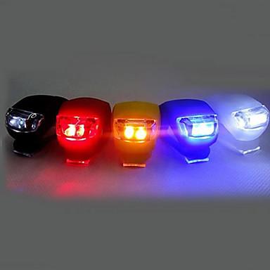 Fahrradlicht / Fahrradrücklicht / Silikon Fahrradlicht LED Radlichter Radsport Klammer, Größe S, Taschen Knopfzell-Batterien Batterie Radsport / Multifunktion / IPX-4