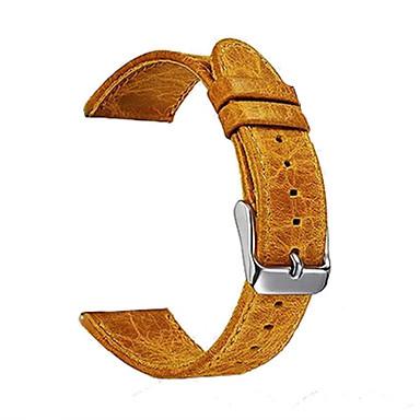 Pulseiras de Relógio para Gear S3 Frontier Gear S3 Classic Samsung Galaxy Pulseira Esportiva Couro Tira de Pulso
