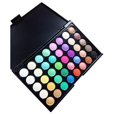 40 colores Sombras de Ojos / Polvos Ojo Maquillaje de Diario Maquillaje Cosmético