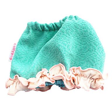 犬 バンダナ&帽子 犬用ウェア キュート カジュアル/普段着 ソリッド ブルー コスチューム ペット用
