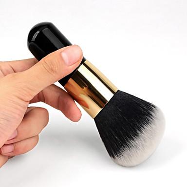 1pcs Makeup Harjat ammattilainen Poskipunasivellin Sivellin nylonista / Synteettinen tukka Kannettava / Ekologinen / Ammattilais Puu