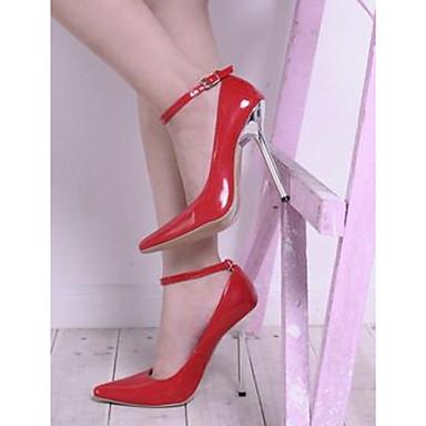 Plateau Talons Aiguille Chaussures Eté Femme Cuir Verni pointu Bout Printemps à 05450884 Talon Similicuir Synthétique Nouveauté Chaussures vq1vAO
