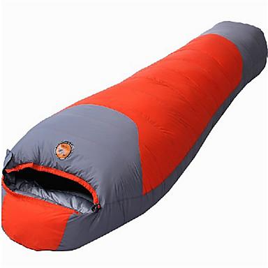 寝袋 マミー型 シングル 幅150 x 長さ200cm 10 中空綿X30 ハイキング キャンピング 旅行 屋外 屋内 防湿 防水 携帯用 折り畳み式 通気性 長方形