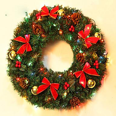 jul krans åler juledekorasjon for hjemmefest diameter 40cm navidad nye året forsyninger